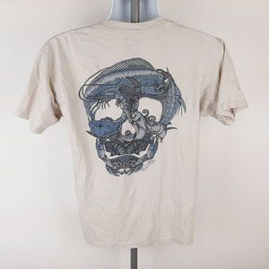 Salt Life Men's Pocket T-shirt Size Medium Beige S